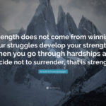 Arnold Strength Quote Pinterest
