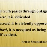 Arthur Schopenhauer Truth Quotes Tumblr