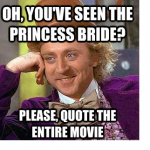 As You Wish Princess Bride Quotes