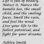 Ashley Smith Quotes About Beauty