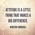 Attitude Quotes by Winston Churchill
