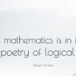Awesome Quotes by Albert Einstein about Poetry