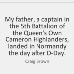 Awesome Quotes by Craig Brown about Father's Day