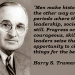 Awesome Quotes by Harry S Truman about Men