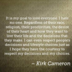 Awesome Quotes by Kirk Cameron about Religion