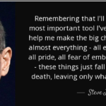 Awesome Quotes by Steve Jobs about Death