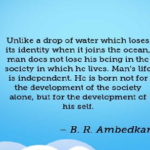 B. R. Ambedkar Quotes About Society