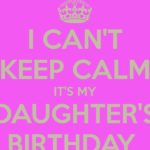 Baby Daughter Birthday Quotes