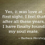 Barbara Hershey Quotes About Anniversary