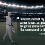 Baseball Retirement Quotes Facebook