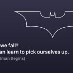 Batman Quotes Why Do We Fall