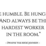 Be Hungry Quotes