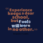 Beautiful Experience Quotes