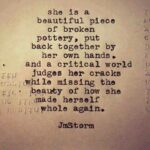 Beautiful Strong Woman Quote