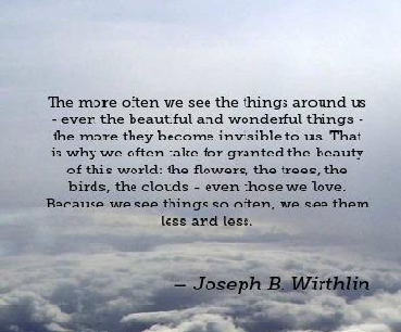Beauty Quotes by Joseph B. Wirthlin