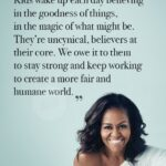 Becoming Michelle Obama Quotes Pinterest