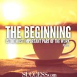 Beginning Of Success Quotes Twitter