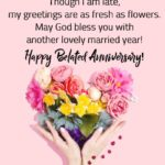 Belated Wedding Anniversary Wishes With Name Pinterest