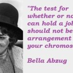 Bella Abzug Quotes Twitter