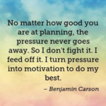 Planning Quotes | Ben Carson Quotes about Planning