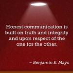 Benjamin E. Mays Quotes About Communication