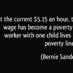 Bernie Sanders Poverty Quotes