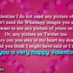 Best Lines For Valentine Day Twitter