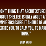 Best Quotes about Architecture