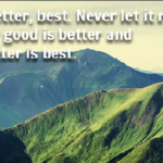 Best Quotes about Best