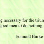 Best Quotes by Edmund Burke about Men