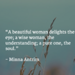 Best Quotes by Minna Antrim about Romantic