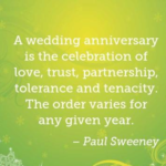 Best Quotes by Paul Sweeney about Wedding