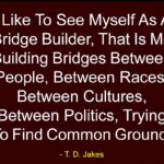 Best Quotes by T. D. Jakes about Politics