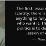 Best Quotes by Thomas Sowell about Politics