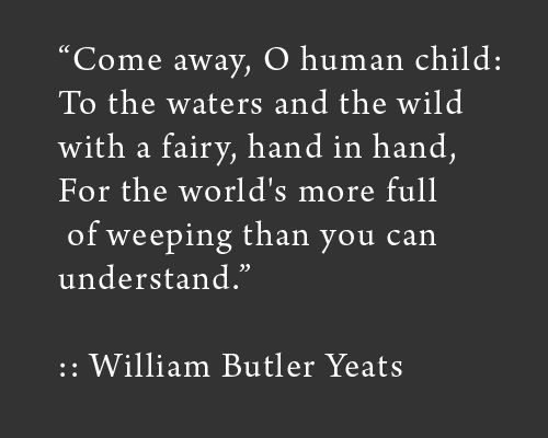 Best Quotes by William Butler Yeats about Sympathy