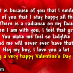 Best Valentine Message For Him Pinterest