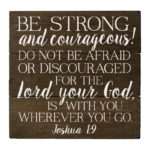 Bible Verse On Being Strong And Courageous Twitter