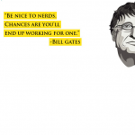 Bill Gates Quotes Be Nice To Nerds