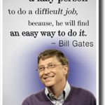 Bill Gates Quotes Lazy