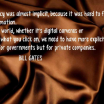Bill Gates Quotes about Digital World