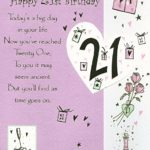 21st Birthday Greetings For Daughter Twitter