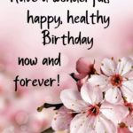 Birthday Wishes For Healthy Life Tumblr