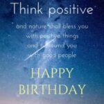 Birthday Wishes Positive Thinking Facebook