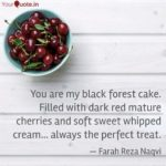 Black Forest Cake Quotes Tumblr