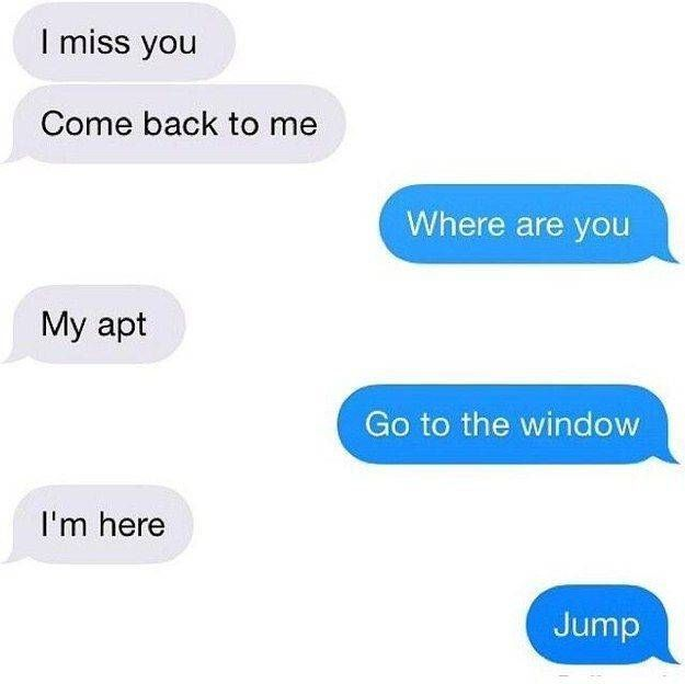 What to say to ur ex boyfriend  12 Funny Comeback Quotes