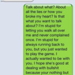 Break Up Text Messages Tumblr