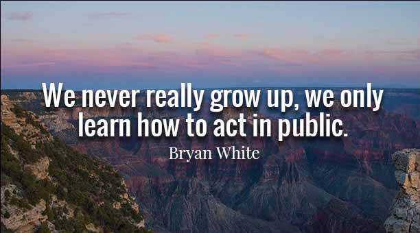 Bryan White Quotes About Teen
