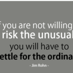 Chance Quotes by Jim Rohn