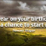 Chance Quotes by Sammy Hagar