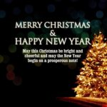 Christmas And Happy New Year Quotes Facebook